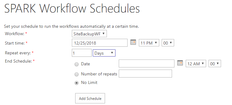 How to schedule a daily site backup using PowerShell activity in SPARK Workflow4.png